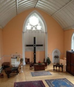 Pond Square Chapel Interior